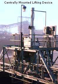 Central lifting device